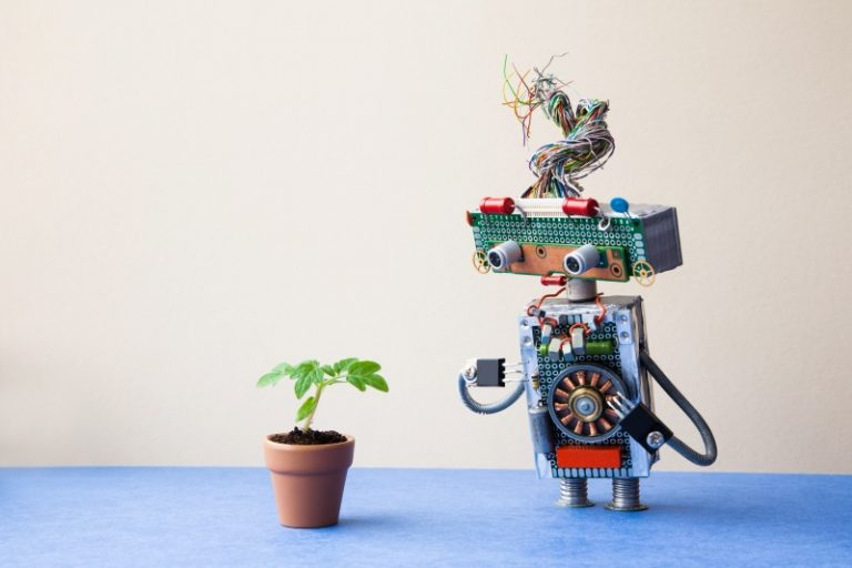 tiny robot Ai robotics