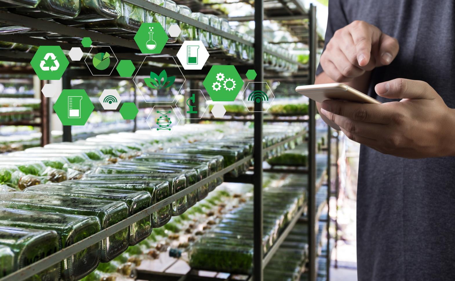 smart farming sensors robotics industry 4.0