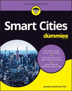 Smart Cities For Dummies on Amazon by Jonathan Reichental