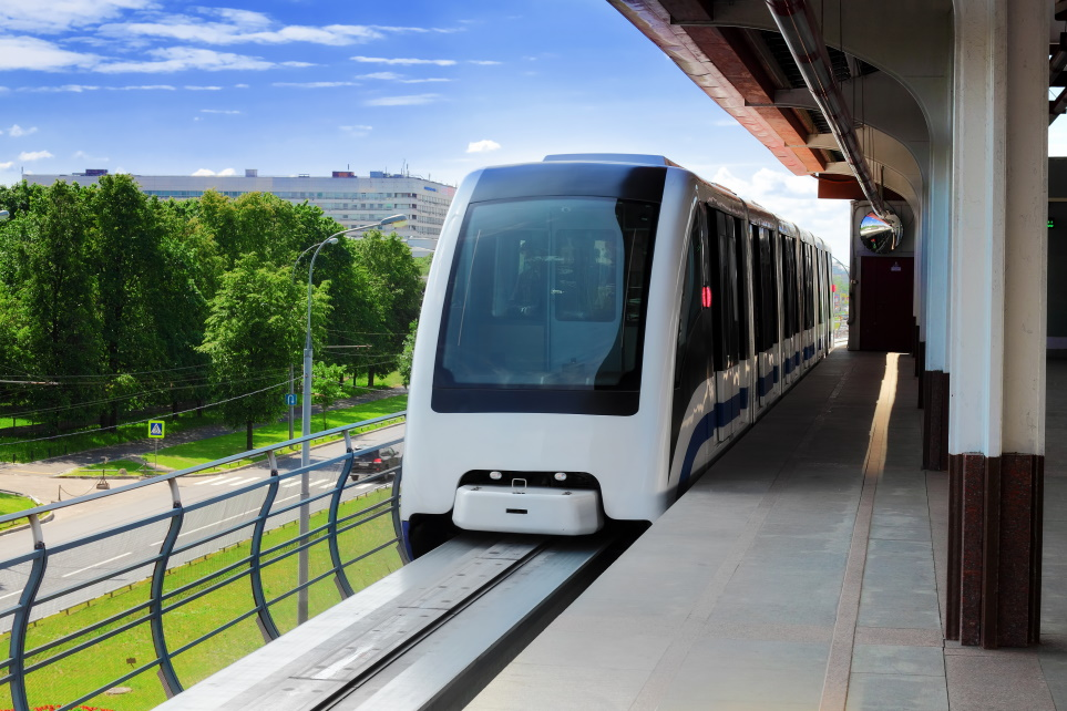green rail transport monorail electric innovation