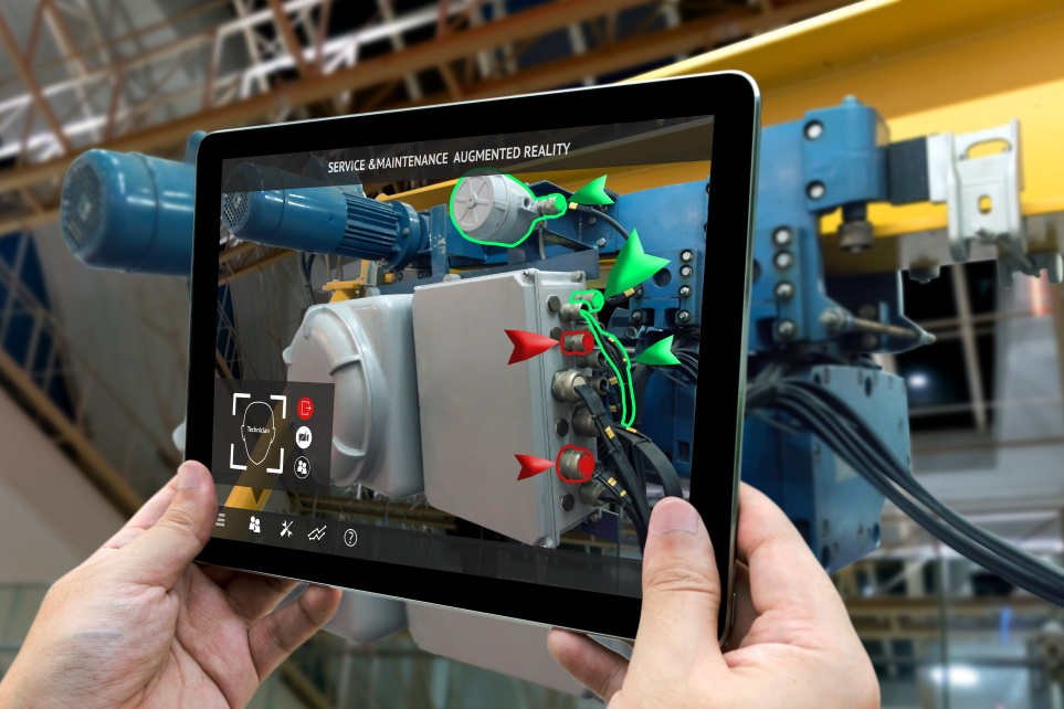 augmented reality industry 4.0 services training workforce manufacturing
